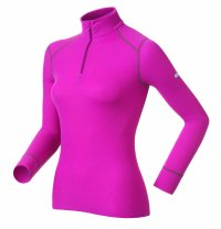 Odlo Women's Originals Warm Long Sleeve T Neck Top