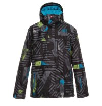 Quiksilver Last Mission Print Insulated Jacket