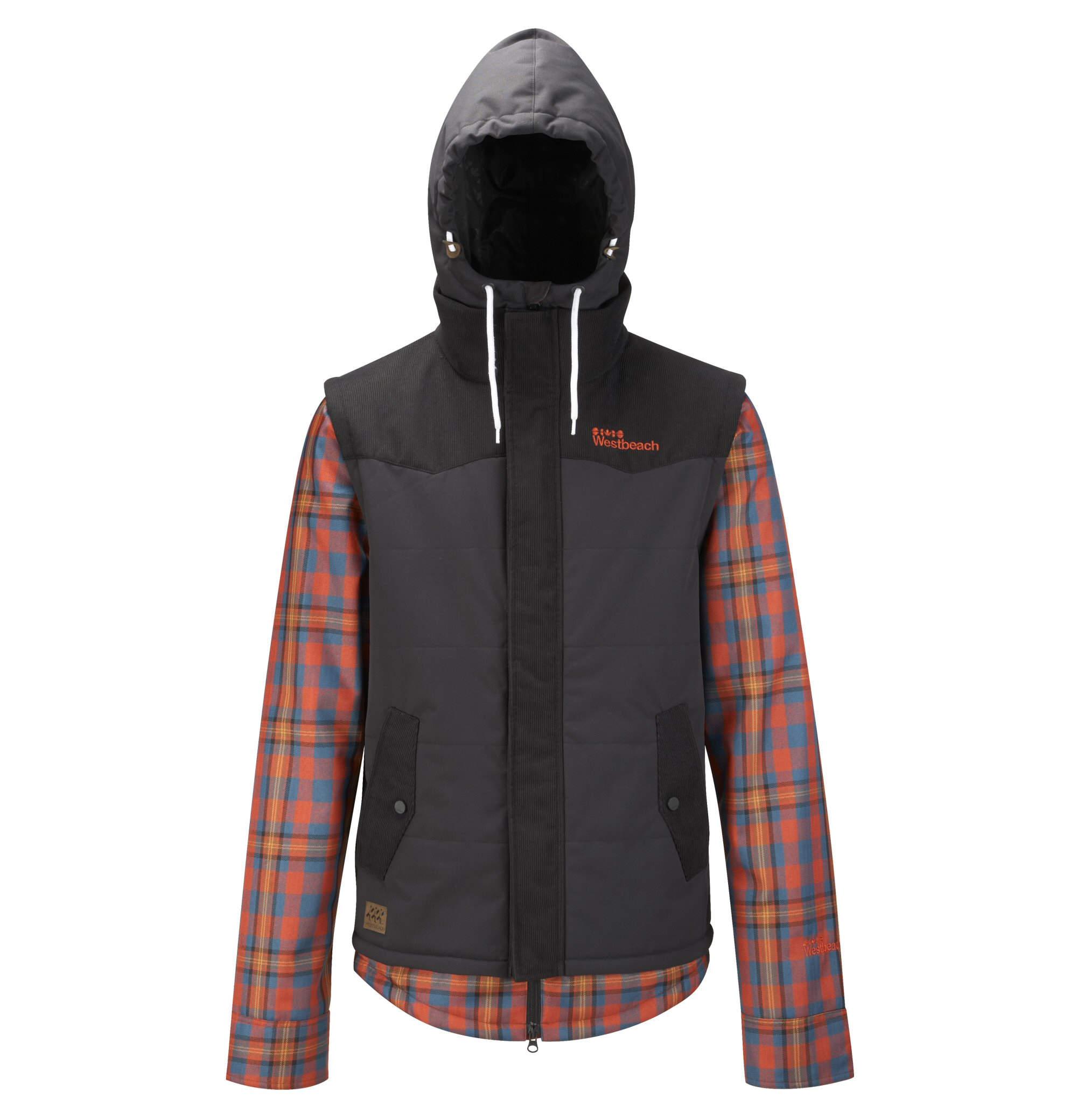 Westbeach Garage Ski Jacket In Black