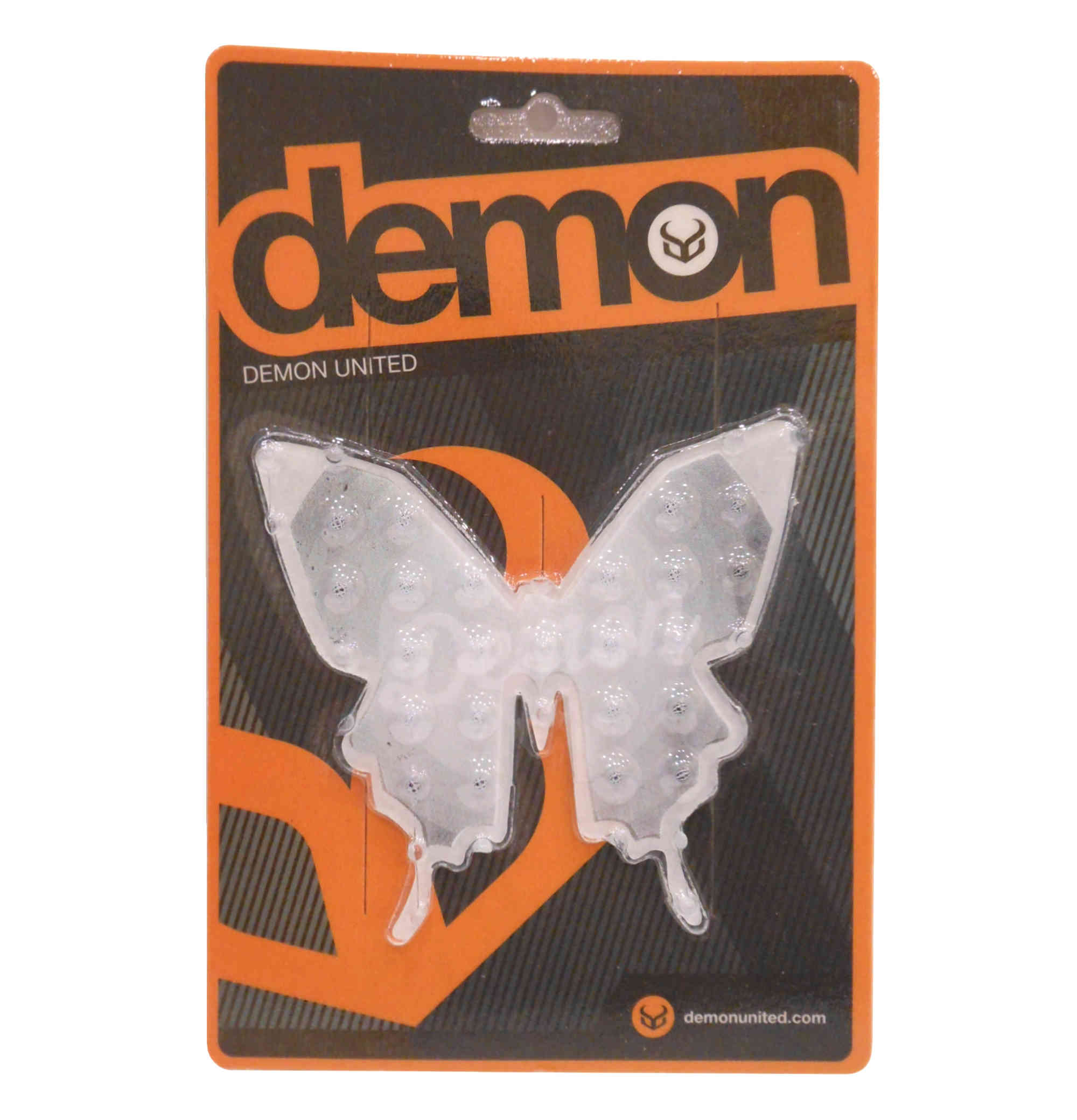 Demon Butterfly Snowboard Stomp Pad In Clear